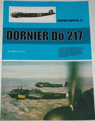 Dornier Do 217, by Jerry Scutts